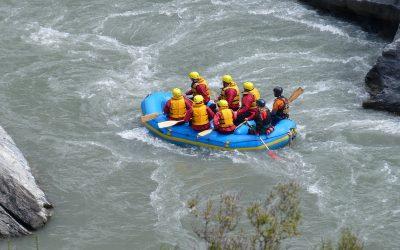 Le rafting pour toute l'année